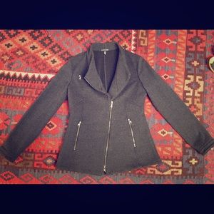 Eileen Fisher Asymetrical Wool Jacket